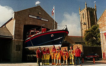 St Ives lifeboat house