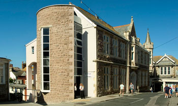 st ives library, st ives, cornwall