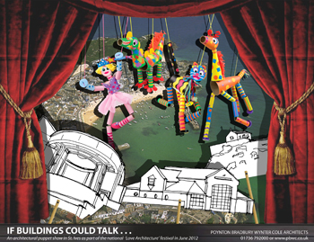 'If buildings could talk ……' A puppet show led by PBWC Architects